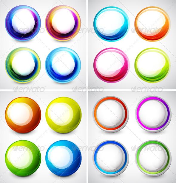 GraphicRiver Vector Swirl Set 3689310