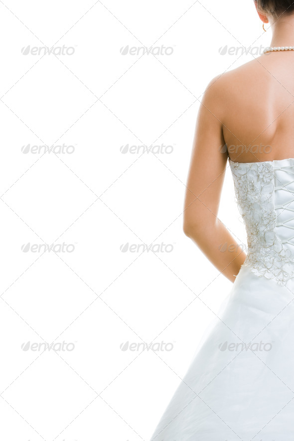 PhotoDune Back of bride 396731