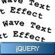 Wave Text Effect - CodeCanyon Item for Sale