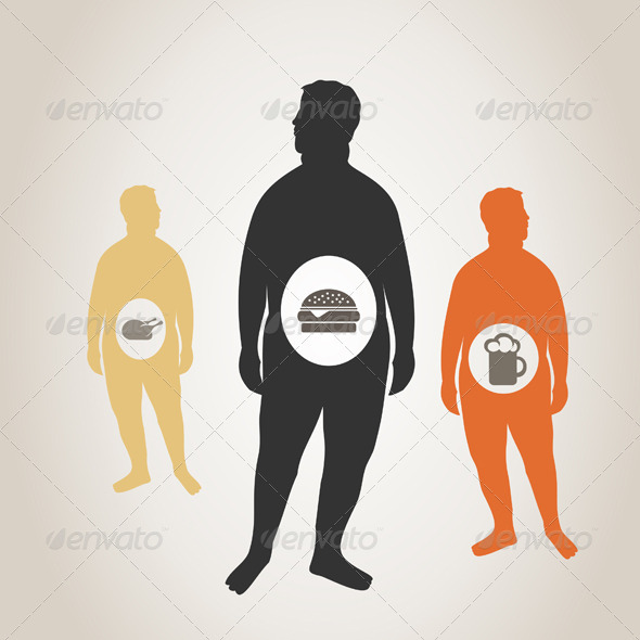 GraphicRiver Fat Man 3690330