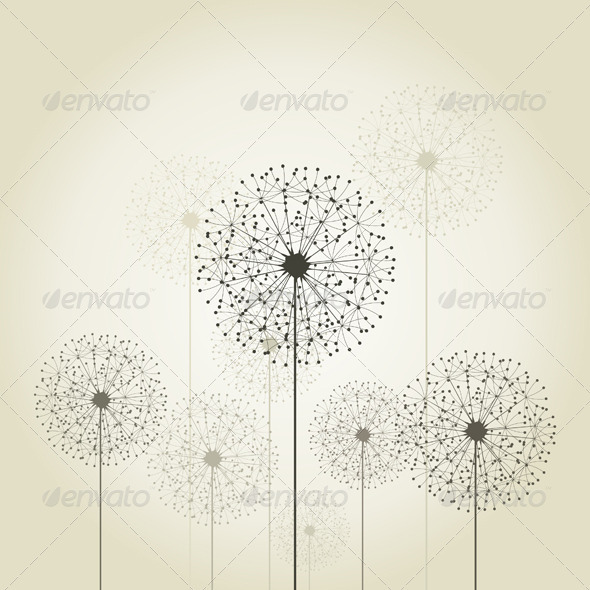 GraphicRiver Dandelions 3690338