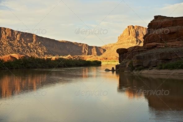 PhotoDune Utah State Colorado River 3690617
