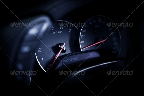 PhotoDune Sporty Car Dashboard 3690620