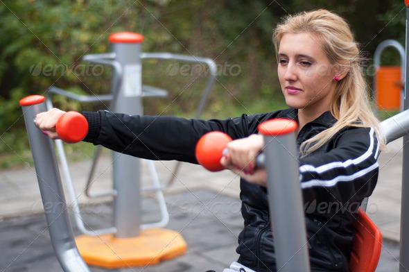 PhotoDune Girl Training 3690607
