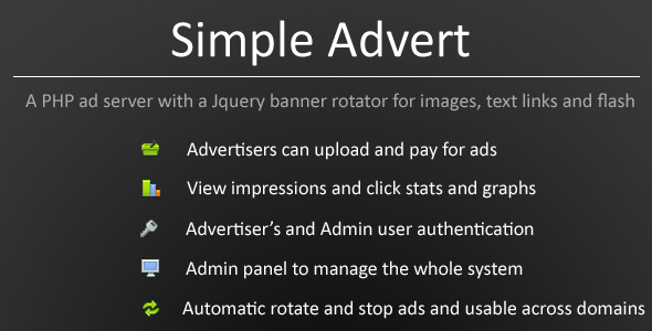Simple Advert