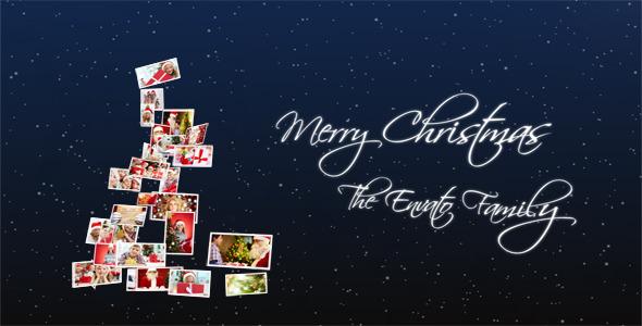 VideoHive Photo Album Christmas Happiness 3651767