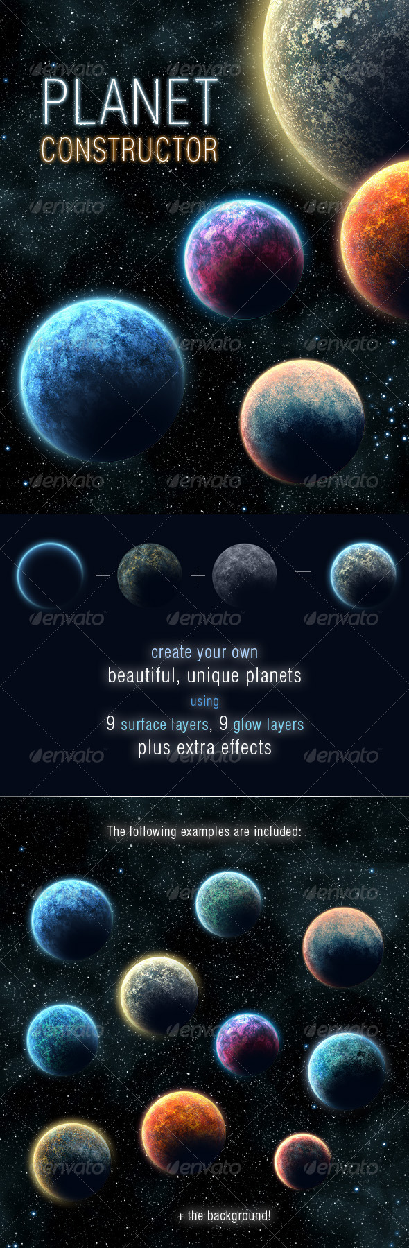GraphicRiver Planet Constructor 168302