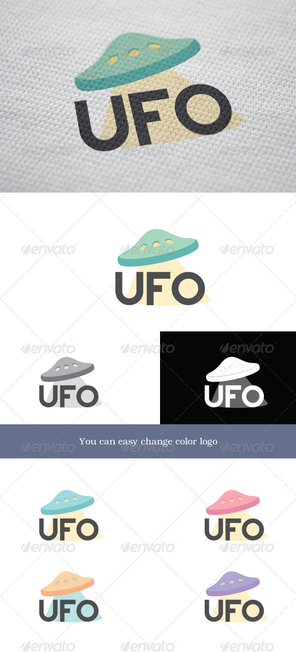 GraphicRiver UFO Logo 3652536