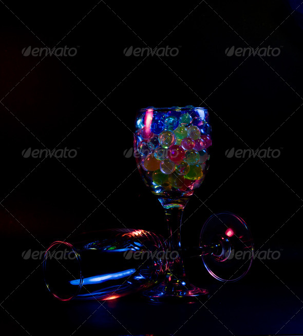 PhotoDune Abstract wine glasses 3692187