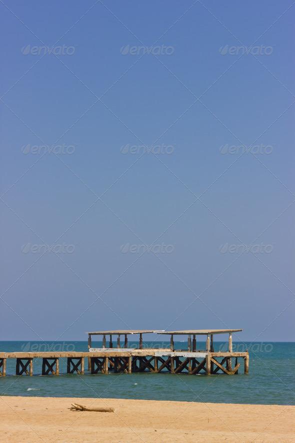 PhotoDune Old Fish Pier 3692185
