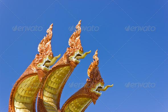 PhotoDune The serpent statue 3692188
