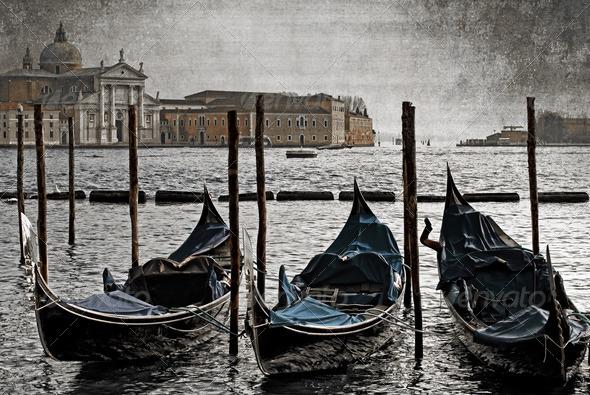 PhotoDune Gondolas Venice Italy 3692230