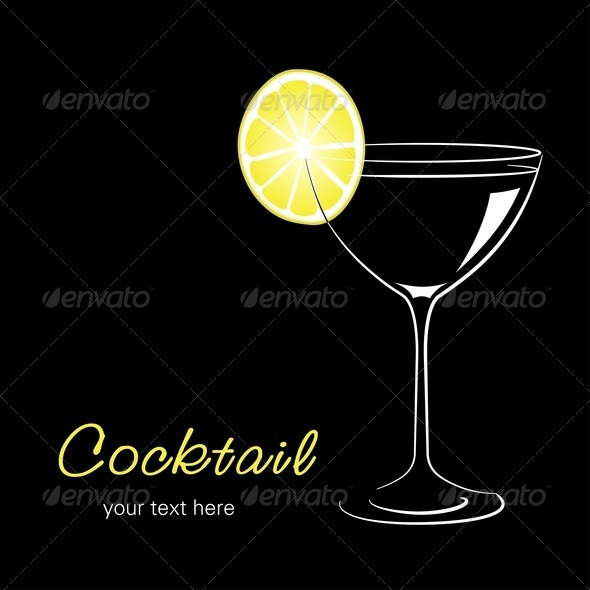 GraphicRiver Cocktail With Lemon 3692262