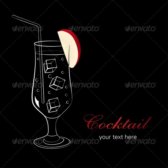 GraphicRiver Cocktail With Apple 3692266