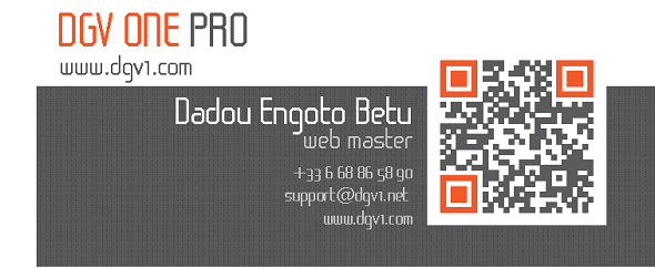 Business card qr page 2