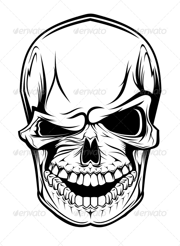 GraphicRiver Danger Skull 3692945