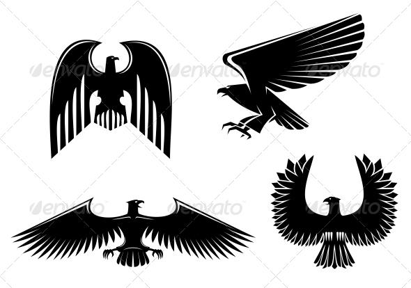 GraphicRiver Eagle Symbols 3692971
