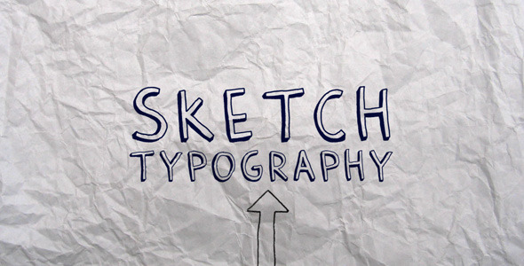 After Effects Project - VideoHive Sketch Typography 397218