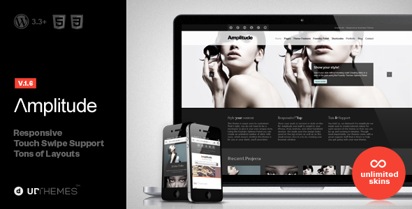ThemeForest Amplitude Responsive Multipurpose WordPress Theme 2950518