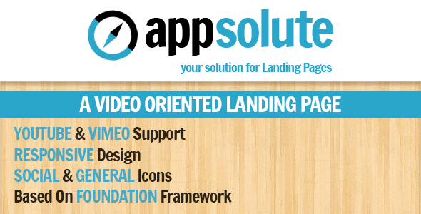 ThemeForest Appsolute Responsive Landing Page 3371001