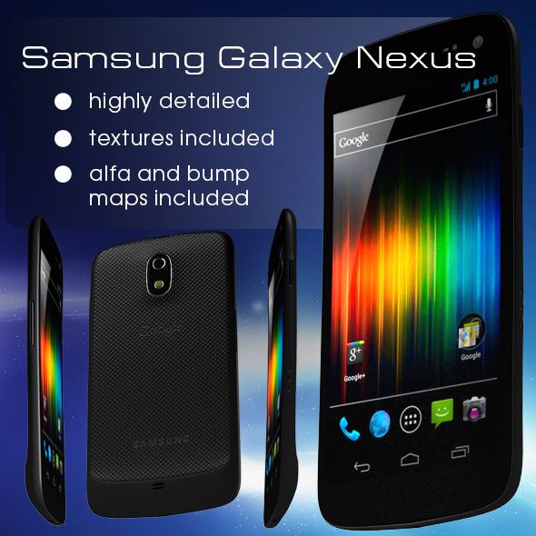 Samsung Galaxy Nexus  - 3DOcean Item for Sale