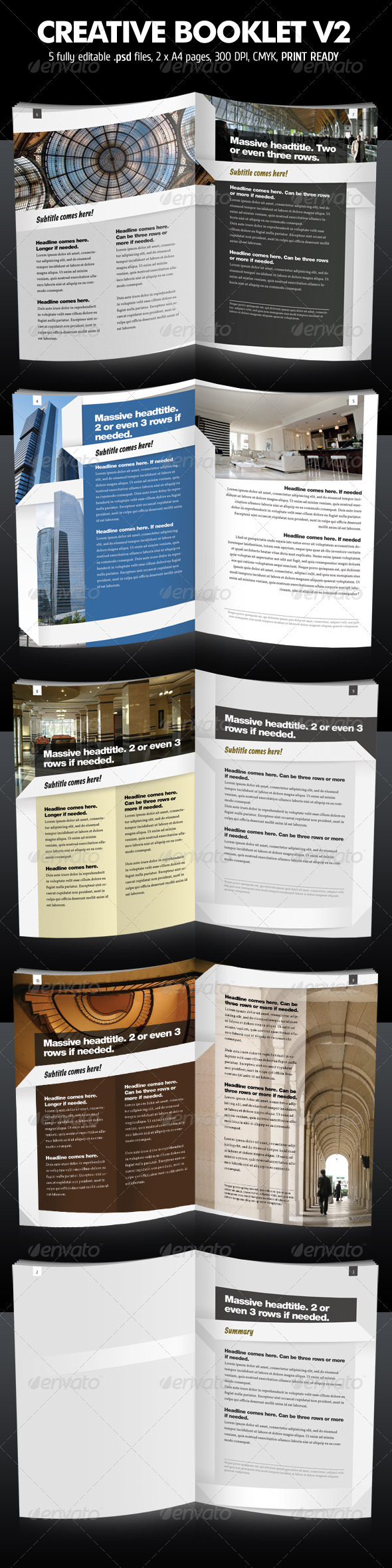 Creative Booklet / Brochure V2 - Corporate Brochures