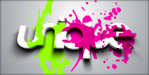 After Effects Project - VideoHive Splatter Reveal 242145