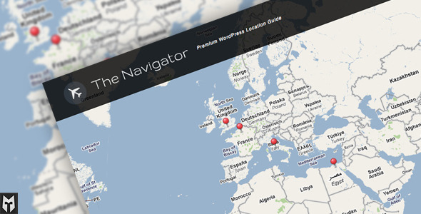 ThemeForest The Navigator Premium WP Location Guide & Blog 397351