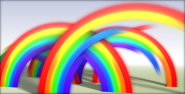 After Effects Project - VideoHive Rainbow Reveal 110768
