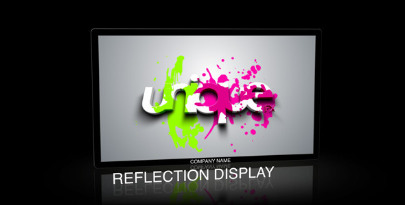 After Effects Project - VideoHive Reflection Display 86859