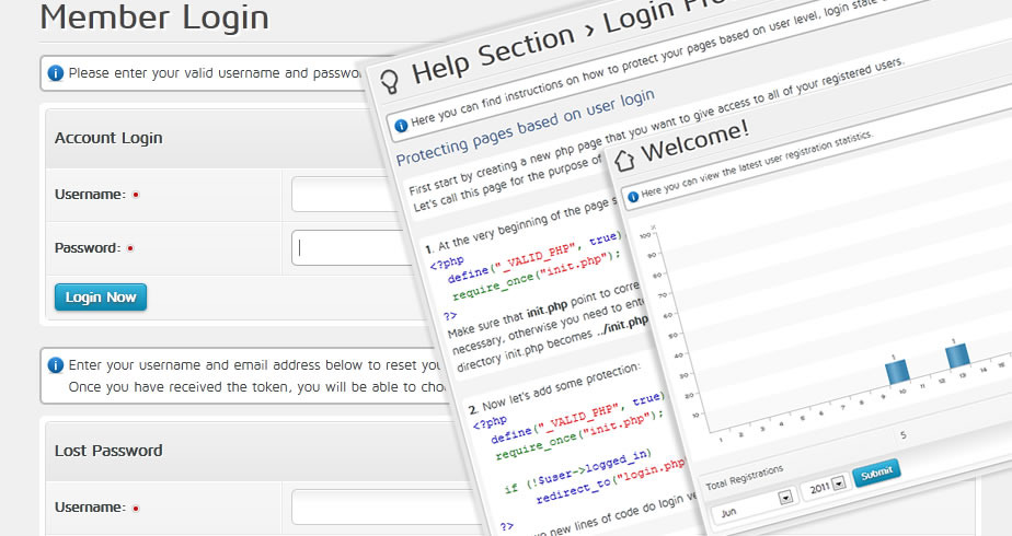 CodeCanyon Advanced Login System 87399