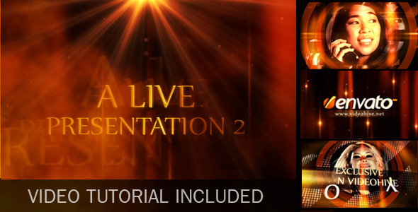 After Effects Project - VideoHive A Live Presentation 2 397461