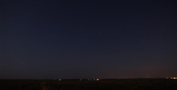 Stars time-lapse