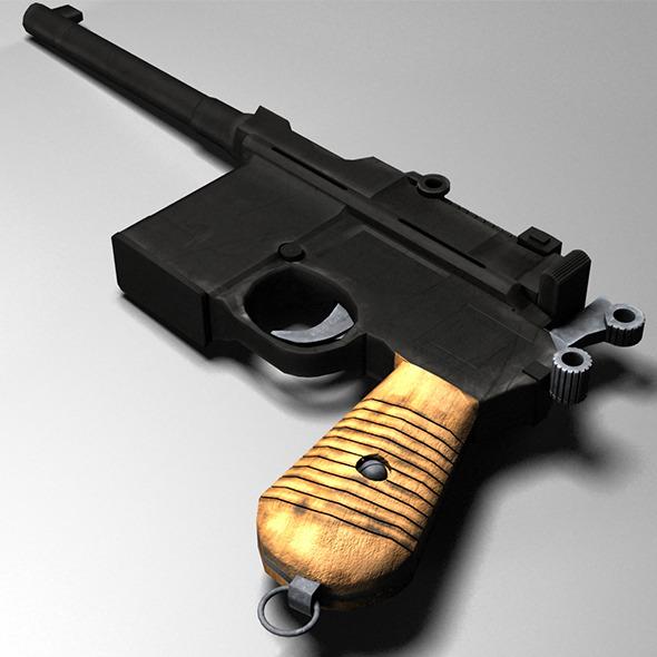 3DOcean Mauser C96 3697023