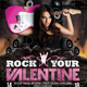 Rock Your Valentine Flyer Template - GraphicRiver Item for Sale