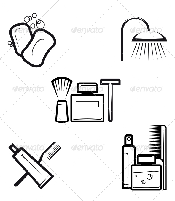 GraphicRiver Hygiene Objects 3697182