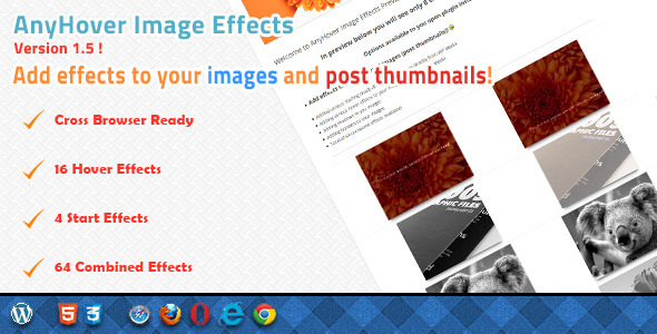 CodeCanyon Anyhover Image Effects 3651269