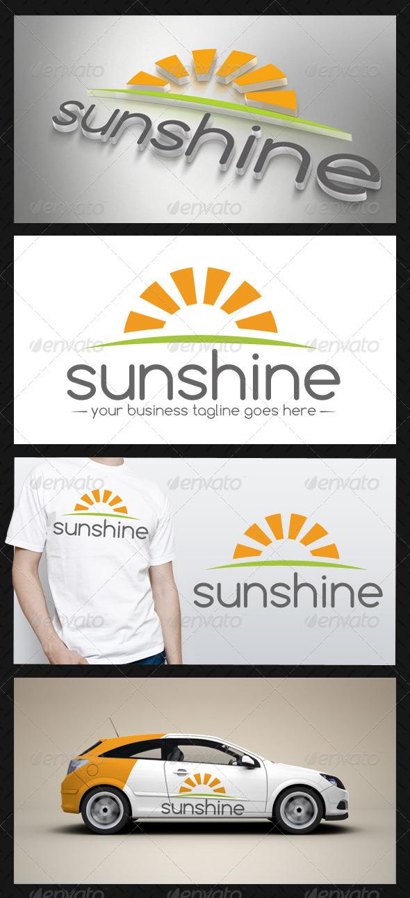 GraphicRiver Sun Logo Template 3655781