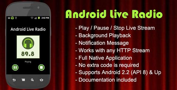 CodeCanyon Android Live Radio 3697897