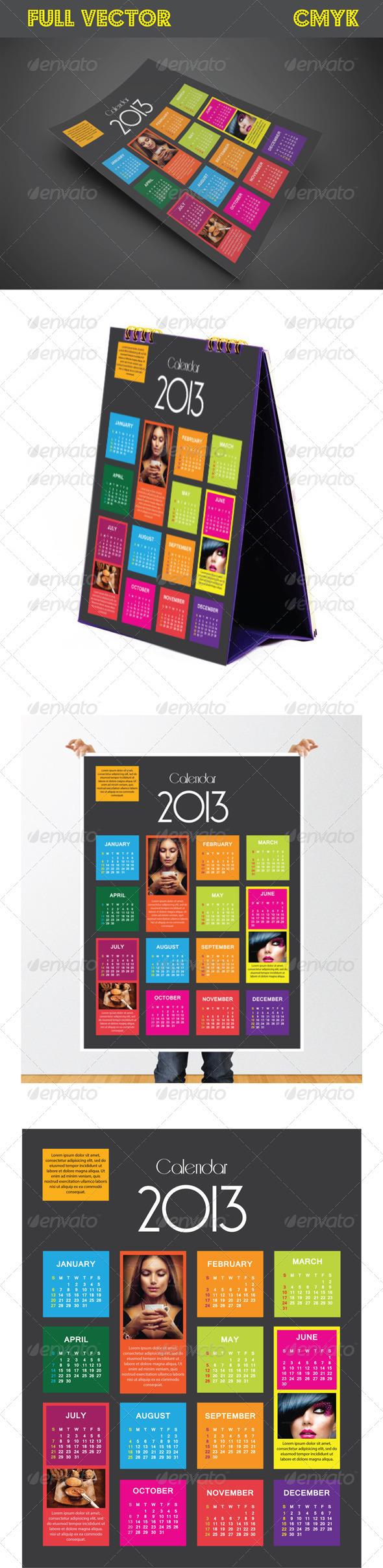 GraphicRiver Box-Style-Calender-1004 3698176