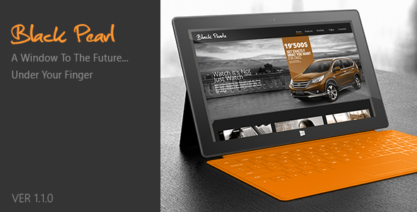 ThemeForest Black Pearl Responsive Wordpress Theme 3218144