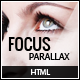 Focus Parallax One Page HTML Template - ThemeForest Item for Sale