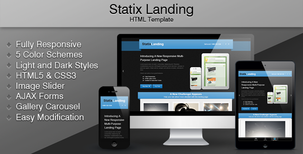 ThemeForest Statix Landing 3632856