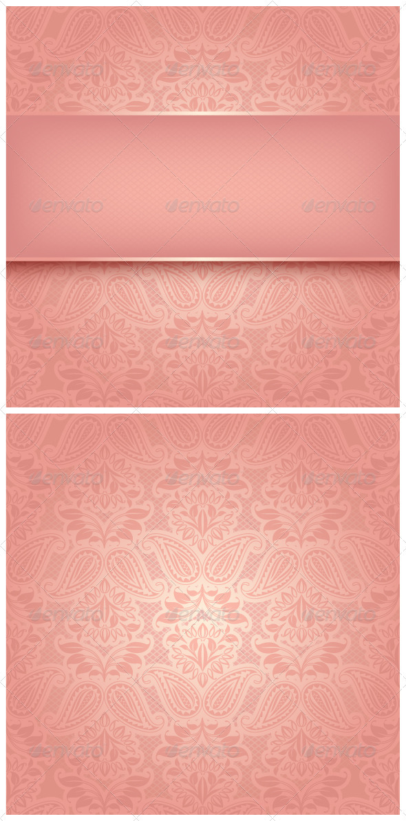 GraphicRiver Decorative Pink Template 3702766