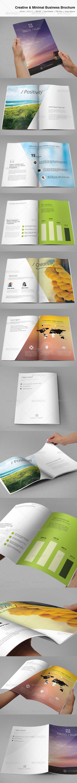 GraphicRiver Creative & Minimal Business Brochure 3702767