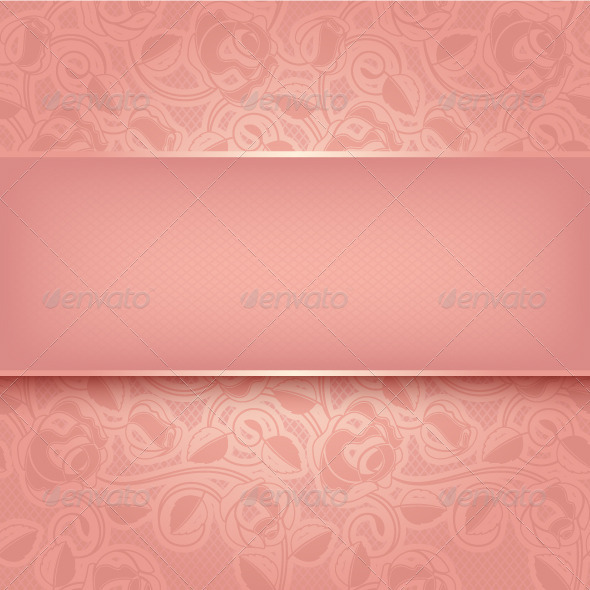 GraphicRiver Decorative Pink Template 3702773