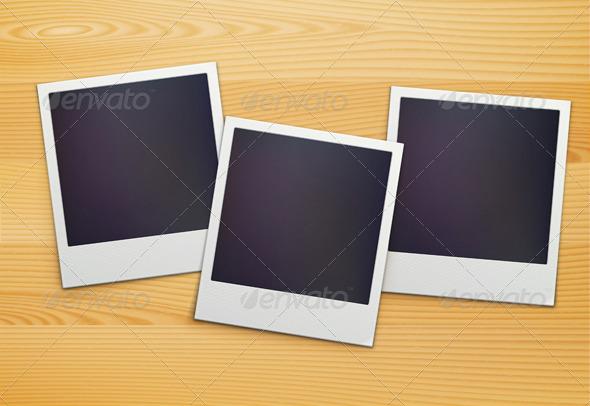 GraphicRiver Polaroid Photo Frames 3702786