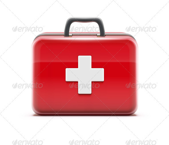 GraphicRiver First Aid Box 3702835