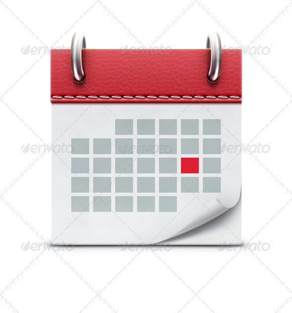 GraphicRiver Calendar Icon 3702873