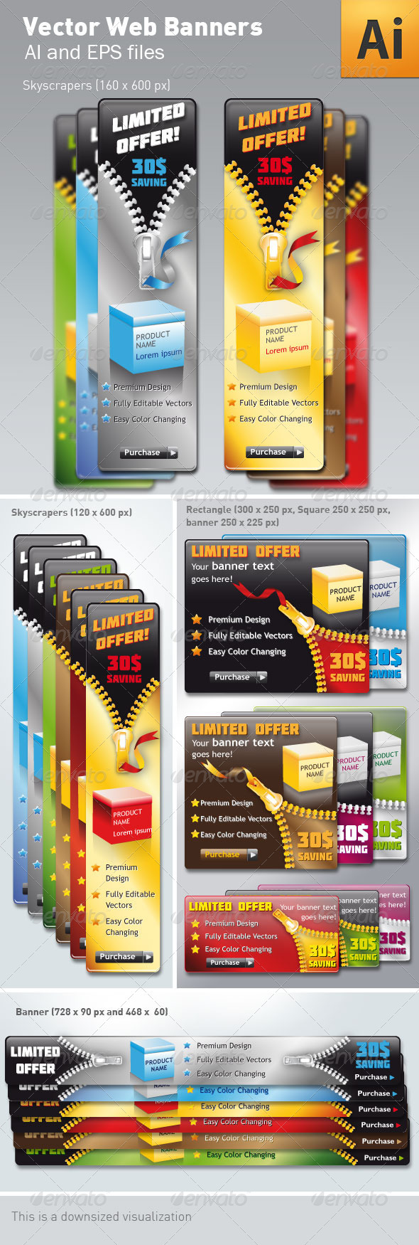 Vector Web Banners